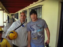 Coach Reis with Cabanas