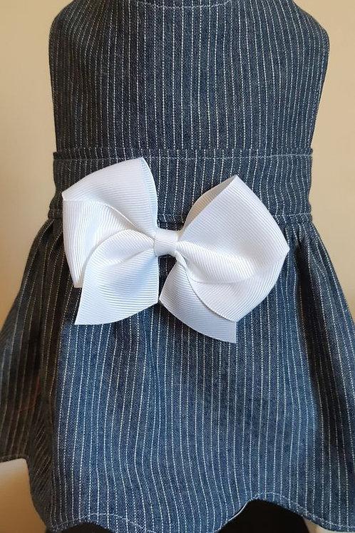 Pin Striped Miss Lilly Dress - Medium