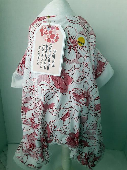 Puppy Snuggle Pajamas - Large