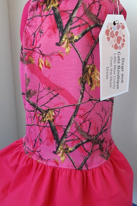 """Little Miss """"Camouflage"""" Dress - X-large"""