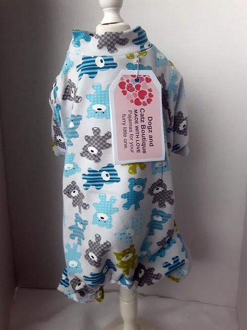 Teddy Bear Pajamas - Large