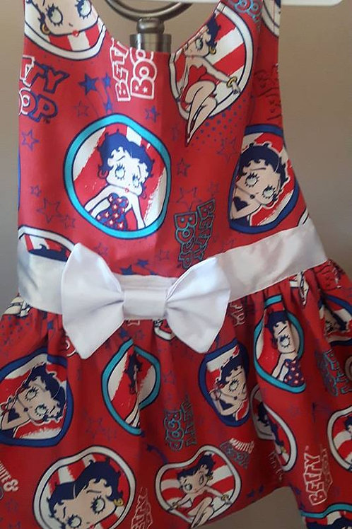 Betty Boop Retro Dress xxsmall