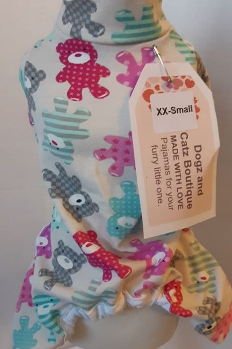 xx small Teddy Bear Pajama