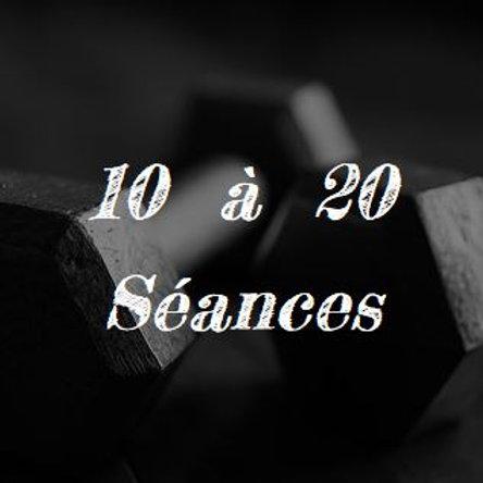 10 à 20 Séances