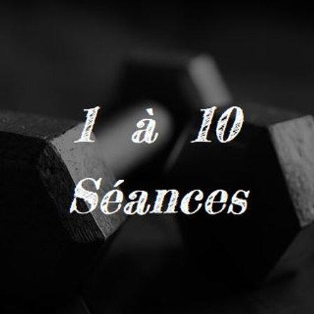 1 à 10 séances