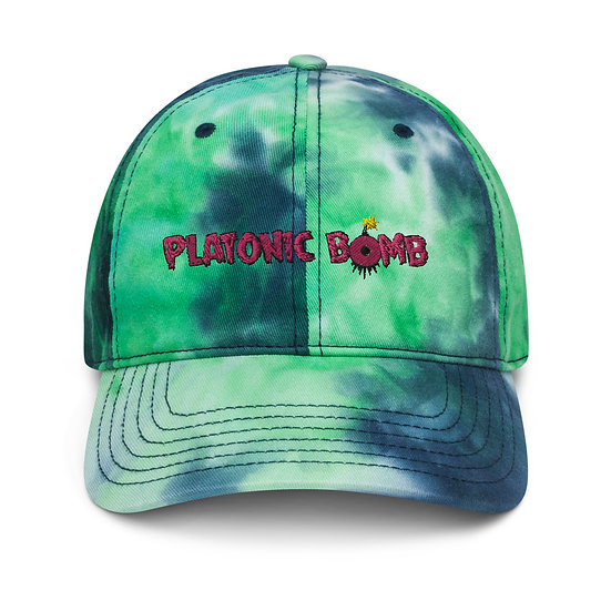 Tie dye hippie hat