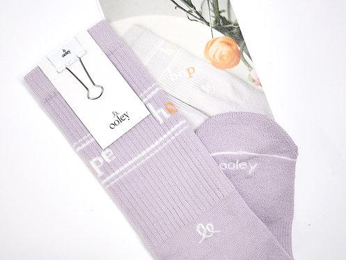 Socke 'hope lavender'