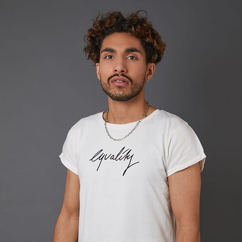 T-Shirt 'Equality' Figurbetont von A LIMA