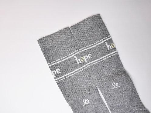 Socke 'hope silver'
