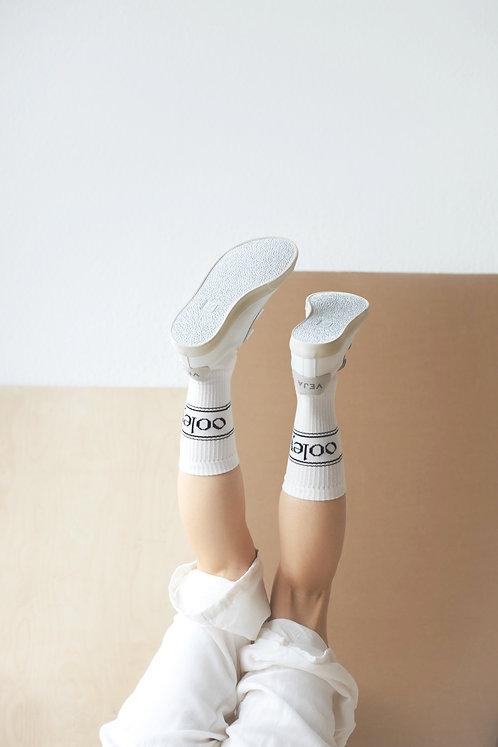 Socke 'ooley white'