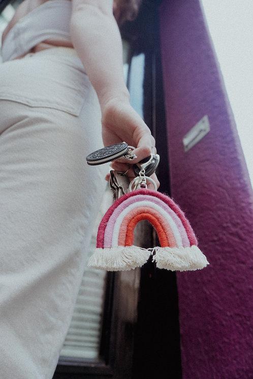 Schlüsselanhänger 'Pink Rainbow'