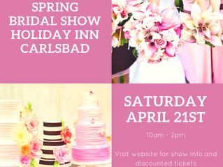 Come Meet Ginger's Weddings in Carlsbad on 4/21!