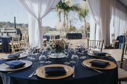 tablescape navy