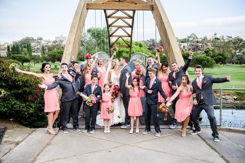 fun bridal party pic