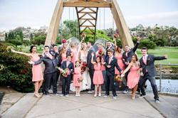 fun bridal party pic