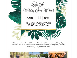 Come Meet Ginger's Weddings in Oceanside on Sunday, March 11th!
