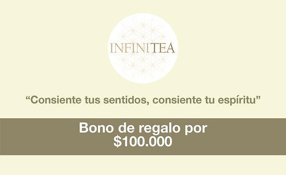 Bono regalo por $100.000