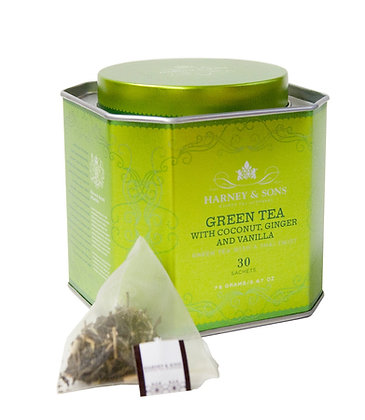 Green Tea With Coconut, Ginger and Vanilla
