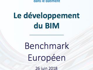 Benchmark Européen sur le développement du BIM en chiffres et pays par pays
