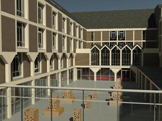 Maquette BIM de 24.000 m2 pour l'Université catholique de Louvain (UCL - Eurosia)