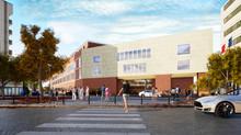 Réalisation de la maquette BIM d'un lycée de 17 500 m2 à Boulogne-Billancourt (IDF) pour Bouygue
