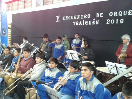 Chillán abre el 5to Encuentro  Inter Regional de Orquestas en la Ciudad de Traiguen