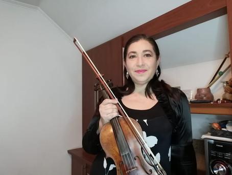Violinista Virtual,  Ceremonia Trasmisión Mando Club Rotary Marta Colvin