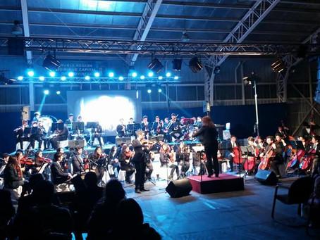 Exitoso Concierto de Orquestas Juveniles en Quirihue