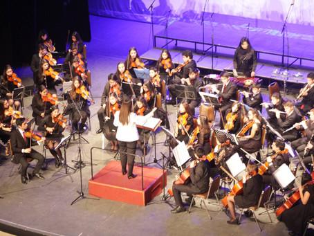Felicitaciones a los Mejores promedios Orquesta Sinfónica Juvenil Municipal Claudio Arrau León