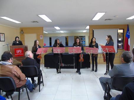 Quinteto de Cuerdas Femenino en Universidad Pedro de Valdivia