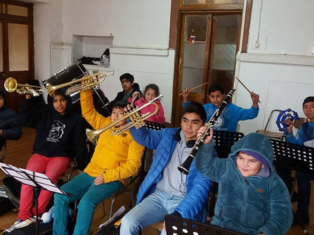 Orquesta Escolar de Triaguen viajará a Nacimiento