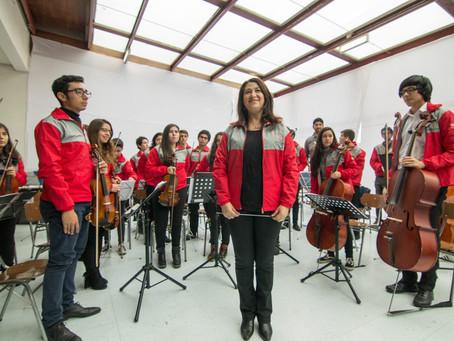 Orquesta Sinfónica Juvenil Claudio Arrau en Concierto en Colegio Concepción  Chillán