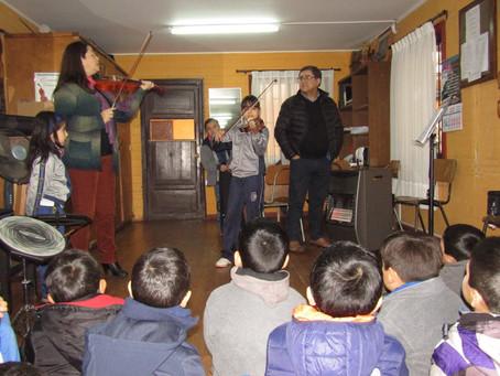 En la semana de la Educación Artística, la Orquesta abrió sus puertas