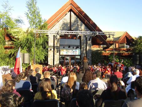 Universidad Pedro de Valdivia, celebra con Orquesta, Aniversario No 10