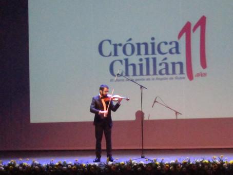 Violinistas destacados participan en Actividades Chillanejas