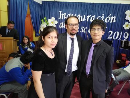 Violinistas Chillanejos, invitados especiales a Traiguen