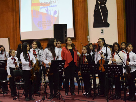 Orquesta Sinfónica Infantil  Arrau se destaca en Semana de la Educación Artística 2019