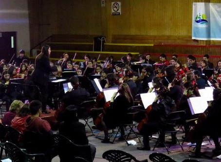 Orquesta Sinfónica Juvenil Municipal Claudio Arrau  en  2do. Encuentro Orquestas Junto al Mar