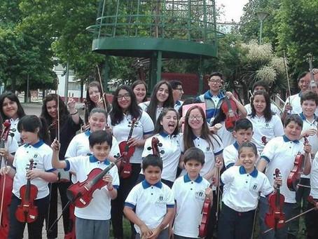 Orquesta Sinfónica Escolar  de Traiguen on Line.-