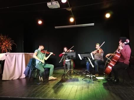 Taller de Cuerdas Artístas del Teatro Municipal de Santiago en Chillán