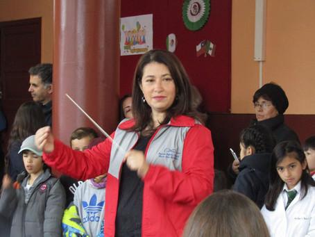 Orquesta Sinfónica Juvenil Claudio Arrau León  se lució en Feria de las Artes del Consejo Regional d