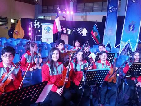 Finaliza con éxito 5to Encuentro de Orquestas Juveniles en Traiguen