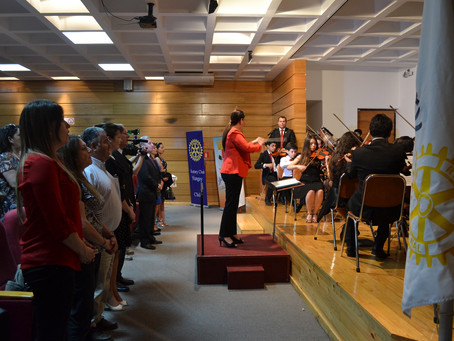 """""""Música para un sueño"""" de Orquesta Sinfónica Juvenil Municipal Claudio Arrau en Yungay."""