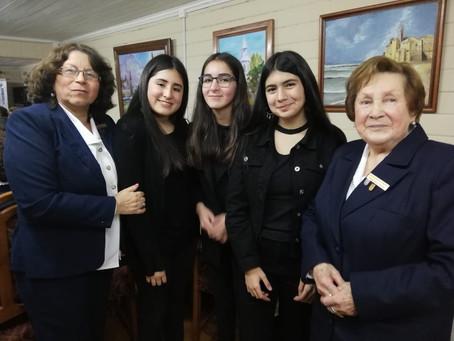 Cuarteto de Cuerdas Infantil en Aniversario 84 Legión Femenina América