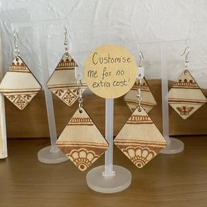 Customisable earrings