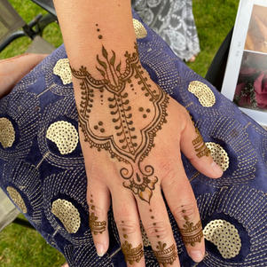 Henna design from a party
