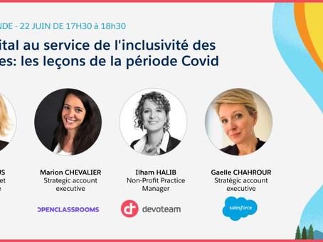 Le digital au service de l'inclusivité des femmes : les leçons de la période covid
