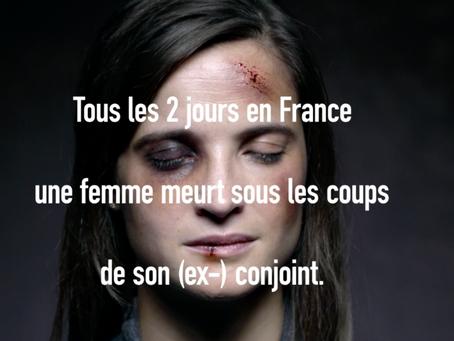 Femmes avec... S'engage contre les violences conjugales.