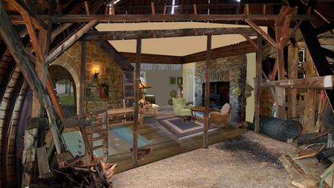 Allan's Cottage Interior