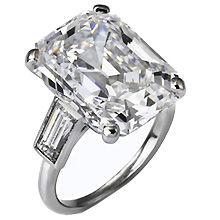 Bague de mariage gros diamant